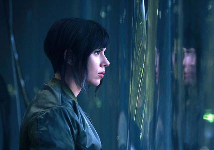 Scarlet Johansson en Ghost in the Shell (Foto: Paramount Pictures and Dreamworks Pictures)